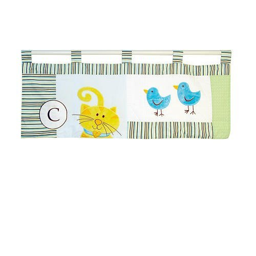 Abc Baby Valance - ABC Animal Friends Window Valance