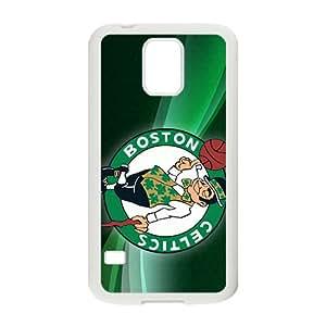 Boston Celtics NBA White Phone Case for Samsung Galaxy S5 Case