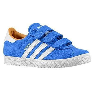 the best attitude 09251 76e7c adidas GAZELLE (PS) Baskets Enfant M20664-31 Bleu Amazon.co.uk Shoes   Bags