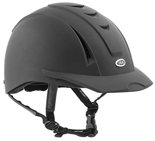International Riding Helmets Equi-Pro Helmet, Matt Black, Medium/Large