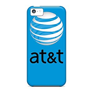 Durable Att Blue Back Cases/covers For Iphone 5c