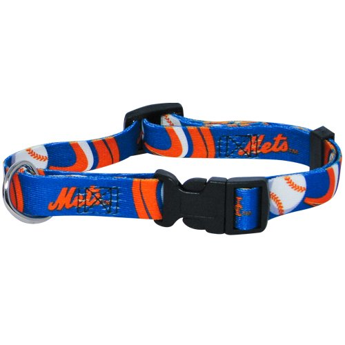 Hunter MFG New York Mets Dog Collar, Extra Small