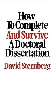 Doctoral Dissertation Help