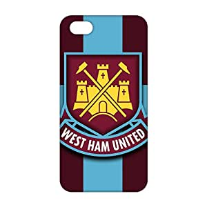 west ham united logo 3D Phone Case for iPhone 5S