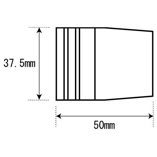 Posh (POSH) bar ends Ultra heavyweight M8 Gold for Kawasaki vehicles 031579-04 by Posh (Image #2)