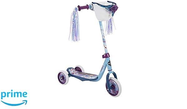 Amazon.com: Huffy Frozen 2 Preschool Scooter, Elsa & Anna ...