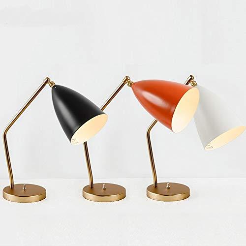 HNZZN Nordic guest room escritorio lámpara de mesa lámparas de ...
