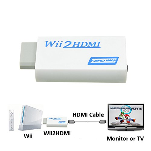 NAMEO Adapter Converter Wii2HDMI Support product image