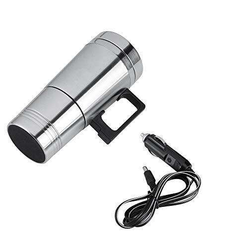 Car Heating Cup, Electric Car Cup, 12V Car Heated Mug Heated Travel Mug, Heated Coffee Mug Warmer Travel Heating Mug…