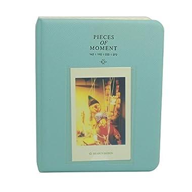 Goodlucky365 Mini Photo Album for Fujifilm Instax Mini7s 8 25 50s 70 90 Film(Blue)