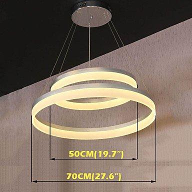 TY redondo LED luces modernas lámparas iluminación colgante ...