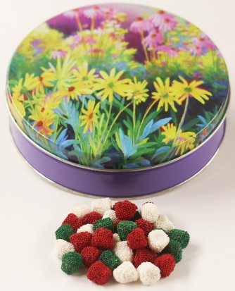 Bell Jells in a Mini Flower Garden Tin (Mini Flower Bells)