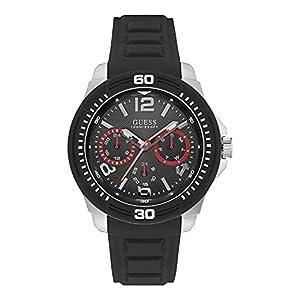 Guess Analog Black Dial Men's Watch – W0967G1
