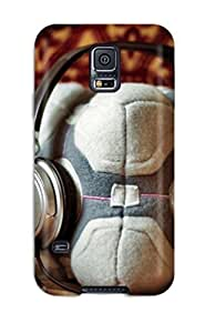 For Galaxy S5 Protector Case Weighted Companion Cube Plush Pillow Phone Cover by ruishername