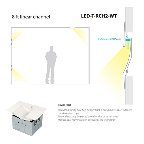 wac lighting led t rch2 wt invisiled linear asymmetrical recessed wac lighting led t rch2 wt invisiled linear asymmetrical recessed channel 8