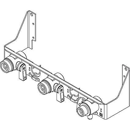 Placa conexión Thema as condensación Saunier Duval Exacontrol a2020300