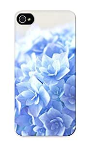 Graceyou Premium Blue Hortensia Flower Heavy-duty Protection Design Case For Iphone 6 4.7