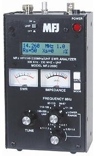 Amazon com: SWR Antenna Analyzer MFJ-259C HF VHF 0 53-230Mhz