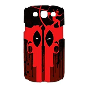 Design Popular Comic Character DeadPool Cool Pictures Hard Plastic Protective Durable Shell for Samsung Galaxy S3 I9300 Case-1