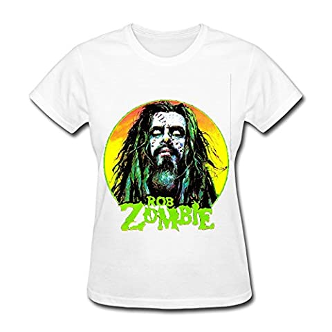 Women's Rob Zombie Logo T-shirt L (Educated Horses Vinyl)