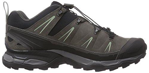 Salomon X Ultra LTR - Zapatillas de senderismo Hombre Gris (Black/Autobahn/Green Clay)