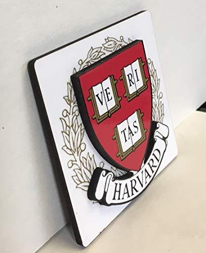 University Magnet Pack - Mahoney Publishing Co. Harvard University 3-D Magnet
