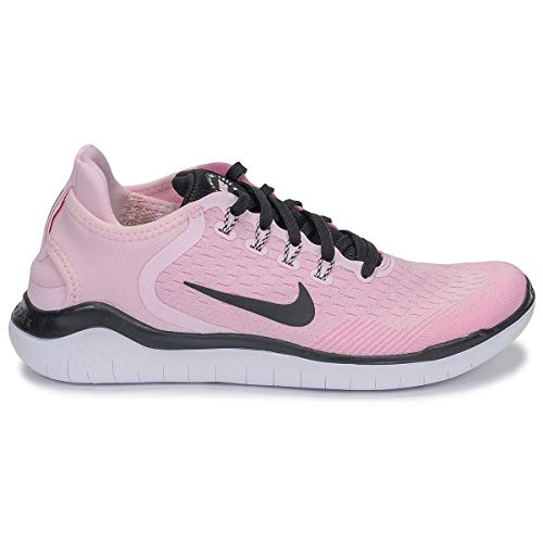 detailed look 75405 4a8f6 pink D athlétisme Rise Chaussures Black Pink Femme Rn Wmns White 603 Nike  Foam Free 2018 Multicolore 7aq8w