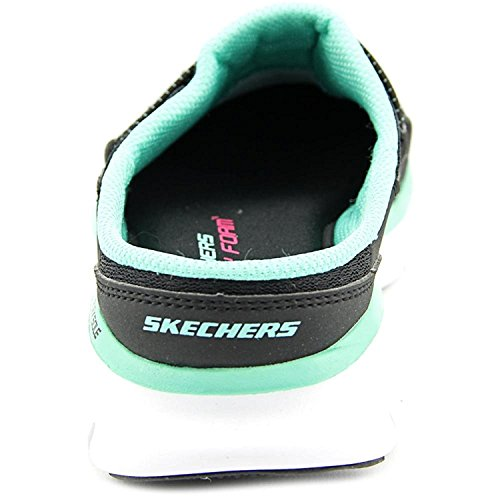 Skechers Sport Womens Quittin Time Ballet Flat Black