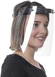 Careta Protectora, ajustable, transparente y lavable, 1 pieza, Piagui, M, Negro