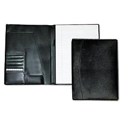 Men\'s Classic Pad Folio/Writing Pad, 8 1/2 x 11, Black, Each, Sold as 1 Each
