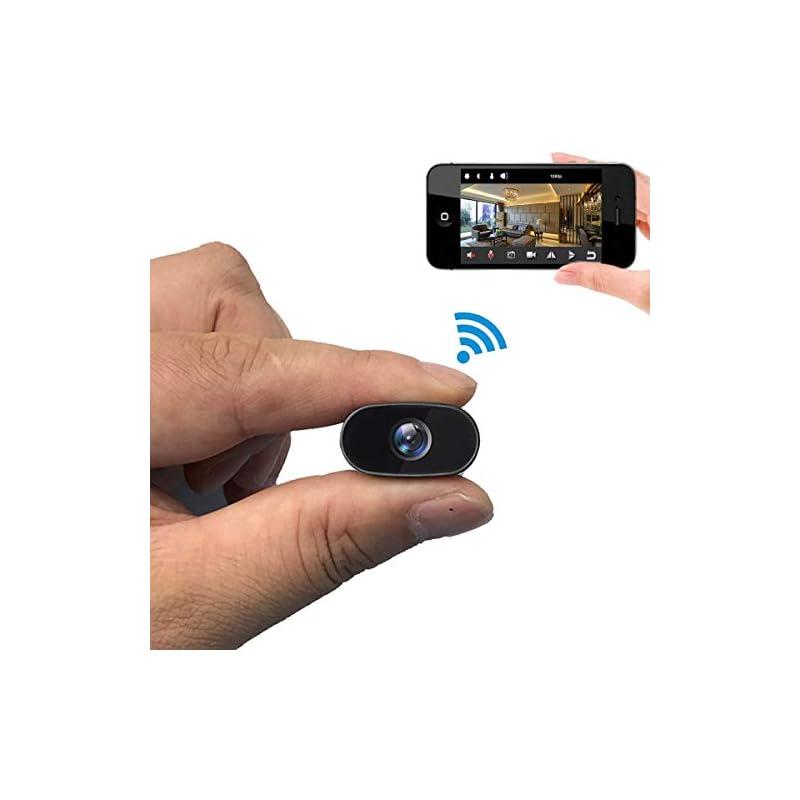PNZEO Mini Hidden Camera 1080P HD Tiny I