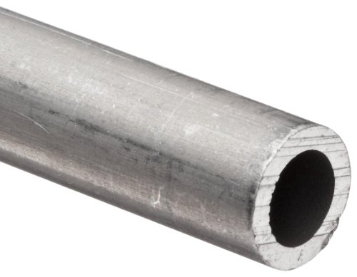 Aluminum 6061-T6 Pipe Schedule 40 4'' Nominal, 4.026'' ID, 4-1/2'' OD, 0.24'' Wall, 72'' Length by Small Parts