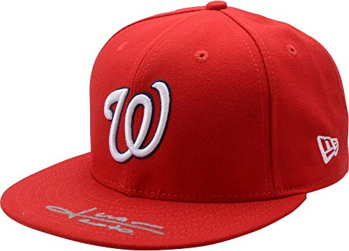 Juan Soto Washington Nationals Autographed New Era Baseball Cap - Fanatics Authentic Certified - Autographed MLB Hats