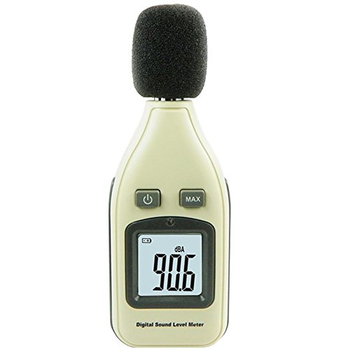 Decibel Meter,Noise Meter / Sound Level Meter Tester Range 30-130dB (A) with LCD Display ( Batteries included )
