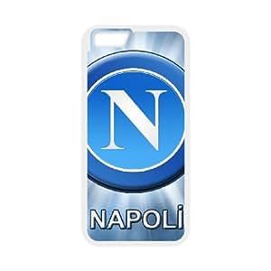 Napoli 004 funda iPhone 6 Plus 5.5 Inch Cubierta blanca del teléfono celular de la cubierta del caso funda EOKXLKNBC22498