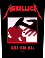 Metallica Kill 'Em All Backpatch