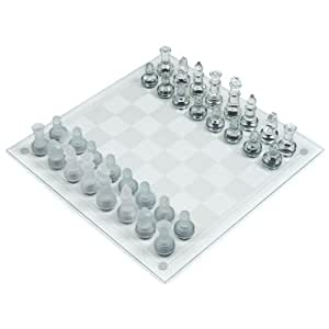 Deluxe Glass Chess Set
