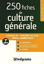 FREE 250 fiches de culture générale [P.P.T]