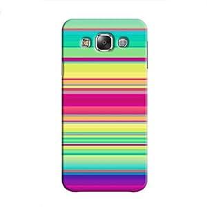 Cover It Up - Pop Rainbow Galaxy E7Hard Case