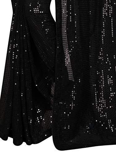 Florely Women's Pure Georgette Saree With blouse piece 4 41USZYv2e7L