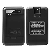 Samsung Galaxy S4 S3 Specialized Battery Charger: Lrker Specialized Intelligent Portable USB Travel Wall Charger for Samsung Galaxy S4 IV S3 Spare battery B600BC - Battery is Not Included (1 Charger)