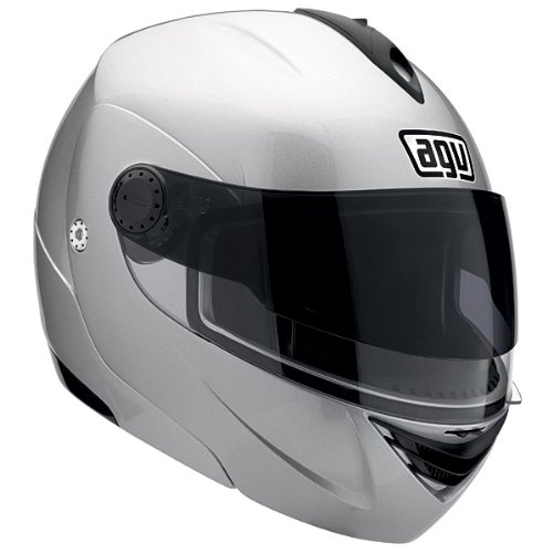 AGV Miglia-2 II Modular Motorcycle Helmet Silver Lg