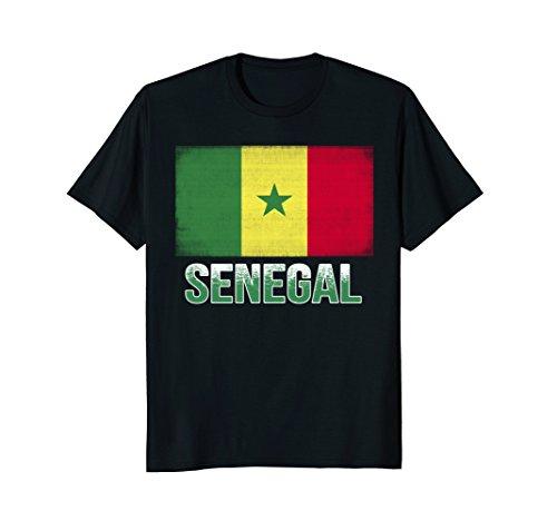 Senegal Flag T-Shirt, Funny Senegal National - Senegal Colors Flag