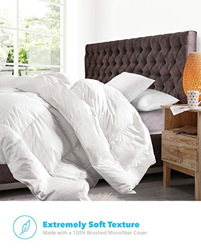 Equinox All Season White Quilted Duvet Cover Sets