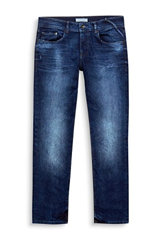 Slim Hombre Esprit 902 Blue Medium Wash Azul para Vaqueros q55rgt7