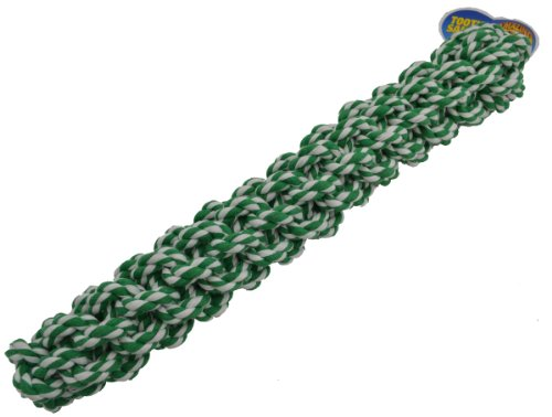 Amazing Pet Products Retriever Rope Dog Toy, 18-Inch, Green