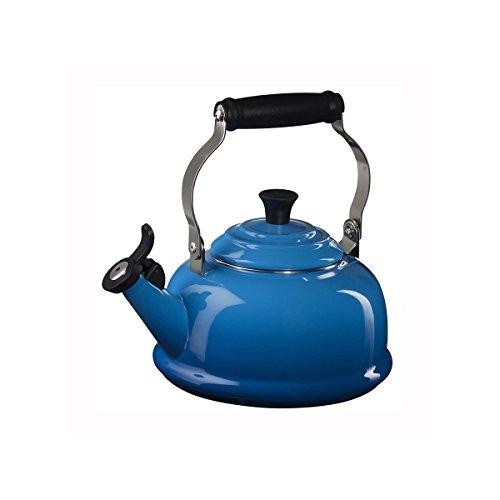 le creuset blue kettle - 9