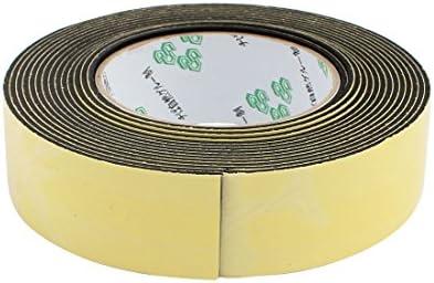 30 Mm x 2 mm Super Fuerte Cinta de espuma de esponja de Eva Solo Lado Negro 5 M Longitud