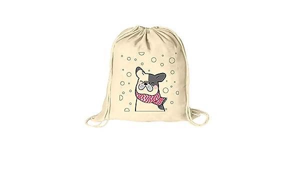 Mochila con cuerdas. Bolsa de cuerdas 100% algodón con impresión ...