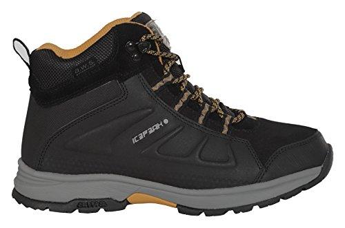 ICEPEAK Mujer Zapatillas Black Negro Schwarz Wulstan 990 zrz1qEfw